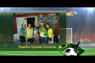 Veja as fotos dos telespectadores do Bom Dia Paraíba em clima de Copa do Mundo - Confira as fotos enviadas pelos torcedores.