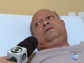 Professor ferido durante assalto ao Sinte-PI fala sobre momentos de 'terror' - Professor ferido durante assalto ao Sinte-PI fala sobre momentos de 'terror'