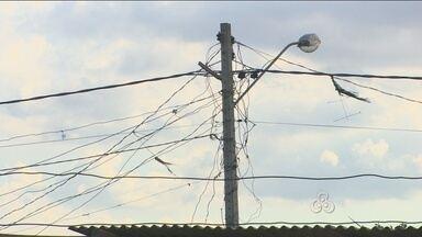 """Rondônia TV fala sobre perigo de instalações elétricas irregulares - Em alguns casos, os ''gatos''OS """"GATOS"""" ne energia elétrica podem curta muito caro."""