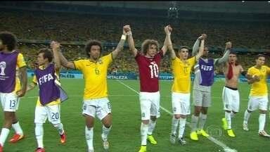 Brasil já disputou sete semifinais em Copas - Brasil e Alemanha só se enfrentaram uma vez em Copas, e deu Brasil. Foi na final de 2002, quando conquistamos o penta. a Alemanha é a seleção que mais chegou a semifinais. Mas o Brasil também tem boas histórias para contar.