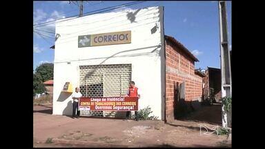 Agência dos Correios é assaltada em Imperatriz - Uma agência dos correios, em Imperatriz, foi assaltada, na ultima sexta-feira (11), e a falta de segurança tem preocupado também em outros municípios da Região Tocantina.