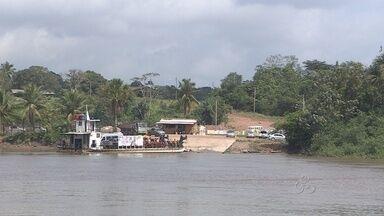 Travessia para o município de Mazagão vai aumentar por causa da Festa de São Tiago - ENQUANTO AS OBRAS DE CONSTRUÇÃO DA PONTE SOBRE O RIO MATAPI NÃO FICAM PRONTAS, A TRAVESSIA PARA O MUNICÍPIO DE MAZAGÃO VAI SEMPRE AQUELE SUFOCO. E ESTE MÊS, O MOVIMENTO É AINDA MAIOR POR CAUSA DA FESTA DE SÃO TIAGO. VAI SER PRECISO PACIÊNCIA PARA ENFRENTAR AS LONGAS FILAS.