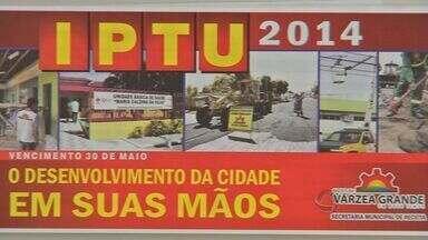 Moradores se queixam do aumento no valor do IPTU em Várzea Grande (MT) - Moradores se queixaram do aumento no valor do IPTU em Várzea Grande.