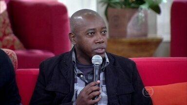 Nando Cunha afirma que atores sofrem pressão e teve que fazer muita terapia - Paula Barbosa também entra no assunto