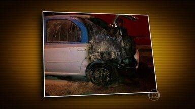 Policiamento é reforçado após ataque no Complexo do Alemão (RJ) - Segundo a Polícia Militar, o ataque foi uma represália à morte de um jovem, de 18 anos, suspeito de tráfico de drogas. Um carro da PM foi incendiado e um policial, baleado.