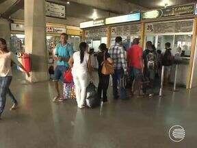 Usuários reclamam de estrutura do Terminal Rodoviário de Teresina - Usuários reclamam de estrutura do Terminal Rodoviário de Teresina