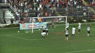 ASA e o Botafogo empatam por 1 a 1 - A partida foi realizada no Municipal.