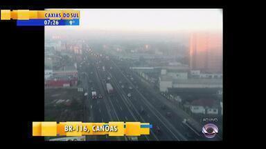 Trânsito: confira a movimentação da manhã desta segunda-feira (21) - Assista ao vídeo.