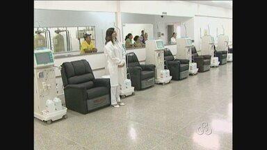 Pacientes de Ariquemes dependem de Porto Velho para fazer tratamento de diálise - A clínica inaugurada há mais de vinte dias não está funcionando.