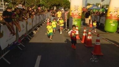 Crianças enfrentam maratona do 'X-Terra', em Manaus - Provas foram realizadas no fim de semana e reuniu diversas crianças.