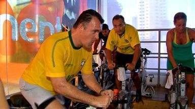 Exercícios físicos podem auxiliar na prevenção de doenças - Exercícios físicos podem auxiliar na prevenção de doenças.