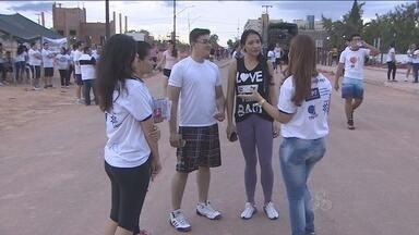 Caminhada realizada em Porto Velho alerta eleitores para eleições limpas em RO - A caminhada teve partida do Espaço Alternativo em Porto Velho.