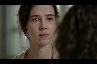 Cora repreende Eliane pelo envolvimento com o cunhado - José Alfredo ouve a conversa das irmãs e questiona se Eliane quer que ele deixe a casa, mas ela insiste que o cunhado fique