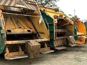 Frota de caminhões da Comcap apresenta problemas e funcionários reclamam - Frota de caminhões da Comcap apresenta problemas e funcionários reclamam