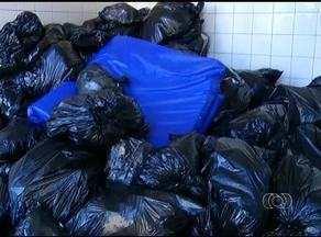 Parte do lixo hospitalar é recolhida no Hospital Geral de Palmas - Parte do lixo hospitalar é recolhida no Hospital Geral de Palmas