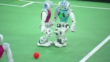 João Pessoa recebe a Copa do Mundo de robôs vencida pela China - Assim como no Mundiald e futebol, Brasil foi eliminado pela Alemanha.