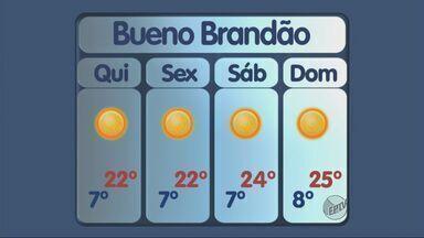 Confira a previsão do tempo para esta quinta-feira (31) no Sul de Minas - Confira a previsão do tempo para esta quinta-feira (31) no Sul de Minas