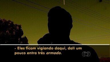 Moradores reclamam de insegurança em bairro de Goiânia - Mulher relata ter se mudado de bairro para fugir da violência, mas ainda é amedrontada pelos assaltos frequentes na região.