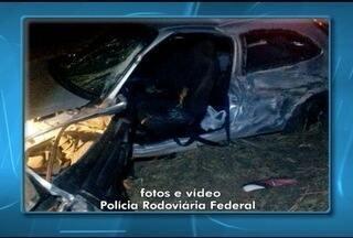 Caminhoneiro é preso depois de provocar acidente envolvendo 5 carros - Motorista confessou ter feito uso de drogas.