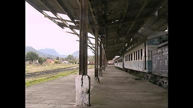 Exposição revive a era dos trens em Santa Maria (RS) - As fotos são um convite para os tempos de glória da Estação Ferroviária.