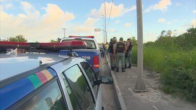 Suspeitos são presos após assalto a posto bancário em hospital do Recife - Em troca de tiros com a polícia em Paulista, um suspeito foi morto. Outros seis estão presos.