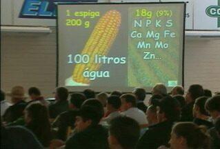 Agricultores participam de fórum para debater safra do milho - Encontro abordou a produtividade e tecnologias disponíveis para a cultura.