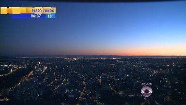 Tempo: em Vacaria, RS, sensação térmica é de três graus negativos durante amanhecer - Em Porto Alegre, manhã registrou 7 graus.