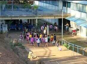 Aulas em escola de tempo integral de Palmas voltam, mas apenas no período da manhã - Aulas em escola de tempo integral de Palmas voltam, mas apenas no período da manhã