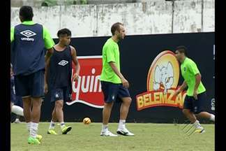 Remo treina para amistoso contra a Etiópia - Equipe azulina ajusta os últimos detalhes para amistoso de domingo