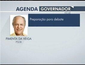 Veja a agenda dos candidatos ao Governo de Minas - Pimenta da Veiga se prepara para debate.