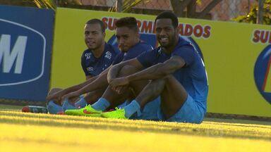 Elogiado por Dunga, Dedé tem motivação a mais para jogo contra Criciúma - Jogador espera chamar a tença do técnico da Seleção