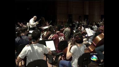Orquestra sinfônica de Sergipe retoma temporada 2014 - Orquestra sinfônica de Sergipe retoma temporada 2014.