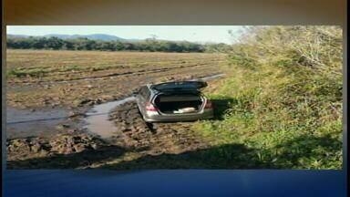 Dupla assalta imobiliária e foge no carro de uma cliente, em Santa Maria (RS) - O assalto foi por volta das 15h da tarde ontem, em Camobi.