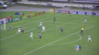 Pela Copa do Brasil, Santa Cruz perde para o Santa Rita - Jogo ocorreu em Maceió.