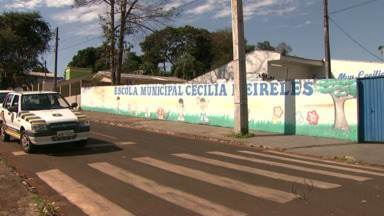 Já está preso em Foz do Iguaçu Marcos Alexandre Guilherme Pereira - Ele atirou em Diego da Silva. A vítima pediu socorro em uma escola municipal.