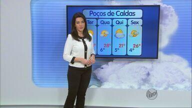 Confira a previsão do tempo para esta terça-feira (12) no Sul de Minas - Confira a previsão do tempo para esta terça-feira (12) no Sul de Minas