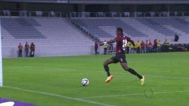 Douglas Coutinho é convocado para seleção brasileira Sub-21 - Ele tem 20 anos e é o artilheiro do Atlético no campeonato.