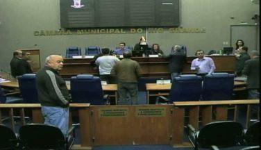 Sessão plenária da Câmara de Vereadores é cancelada por falta de quórum - A ordem do dia previa a votação de 47 projetos.