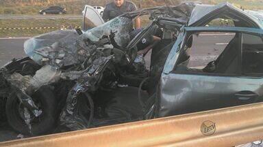 Três vítimas de acidente em rodovia para Ribeirão Preto são veladas em Mococa - Três vítimas de acidente em rodovia para Ribeirão Preto são veladas em Mococa