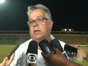 Técnico Josué Teixeira fala sobre ataque do River-PI nos últimos jogos - Técnico Josué Teixeira fala sobre ataque do River-PI nos últimos jogos