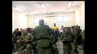 PM põe em prática programa para redução da criminalidade em Monte Alegre - Palestra apresentou primeiros resultados.