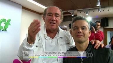 Renato Aragão: 'O Criança Esperança está no sangue' - Otaviano Costa participa da coletiva de imprensa do Criesp