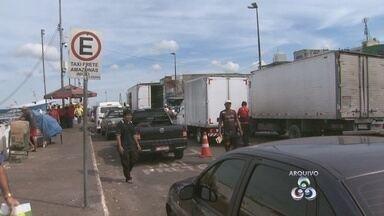 Veja como está o trânsito na Manaus Moderna após intervenções - Manaustrans multou e retirou veículos do local após reportagens.