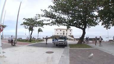 Novo trecho da orla da Barra é liberado, em Salvador - Veja nas imagens.