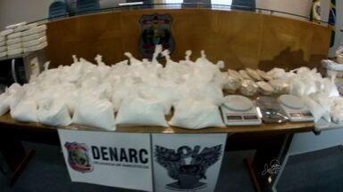 Denarc apreende 47 quilos de droga em operação contra o tráfico - Polícia apreendeu duas pessoas.
