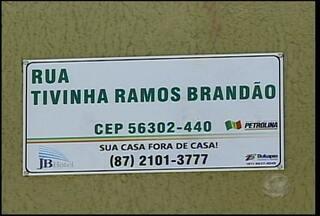 Moradores estão insatisfeitos com mudanças de nomes de ruas de Petrolina - A mudança hoje confunde e dificulta a entrega de correspondências