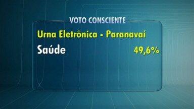 Eleitores de Paranavaí elegem saúde como prioridade - Urna eletrônica ficou durante seis dias em Paranavaí e agora vai para Cianorte