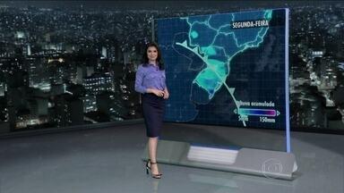 Meteorologia prevê temperaturas altas em todo o país - mesmo nas regiões mais frias do país, o dia começa quente. A stemperaturas devem ser altas em, Porto Alegre, em São Paulo e no Rio de Janeiro. Podem ocorrer temporais na fronteira com a Argentina.