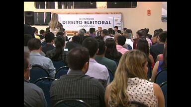 Direito Eleitoral é tema de seminário na OAB - Evento foi para esclarecer regras.