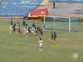 River-PI bate o Interporto no estádio Albertão: 2 a 1 - River-PI bate o Interporto no estádio Albertão: 2 a 1